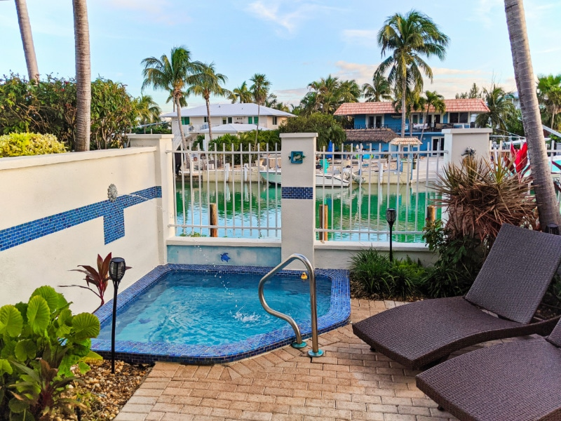 Private Plunge Pool at Hawks Cay Resort Duck Key Florida Keys 2020 1