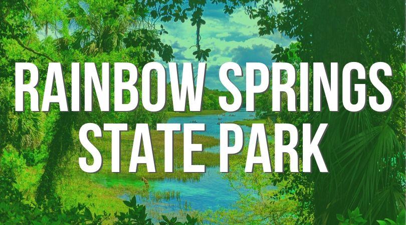 Rainbow Spring State Park Landing
