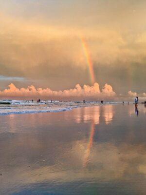 Rainbow at Crescent Beach Saint Augustine Florida 2020 1