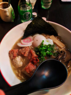 Ramen at Kiki Ramen Belltown Seattle 1