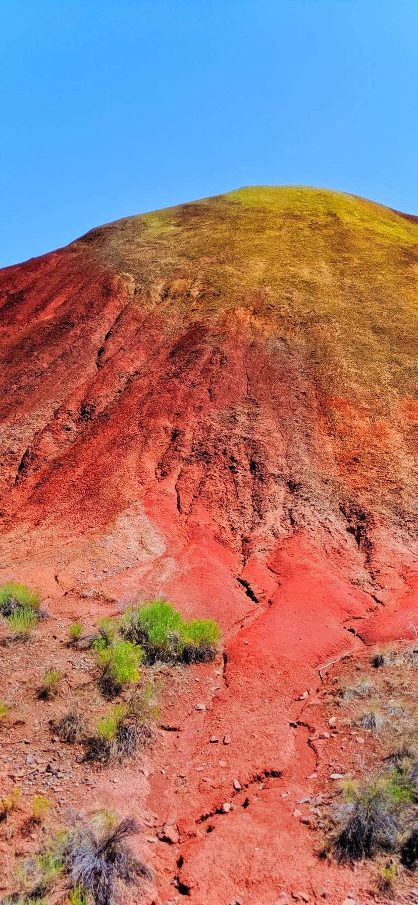 Red Hill at Oregon's Painted Hills