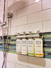 Refillable shower supplies EVEN Hotels Times Square South New York City 1