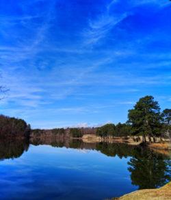 Reflections on Lake Toccoa North Georgia 1
