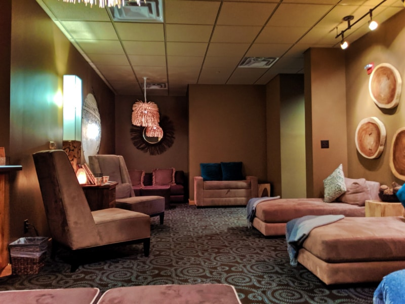 Relaxation Room at Solace Spa Big Sky Resort Montana 1