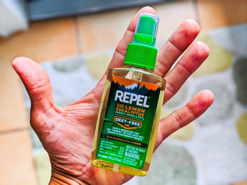 Repel Deet Free Lemon Eucalyptus Bug Spray 1