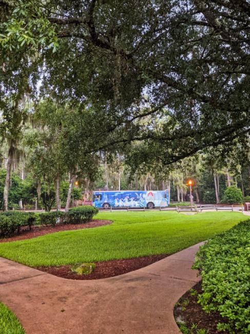 Resort Transportation at Fort Wilderness Resort and Campground Disney World 1