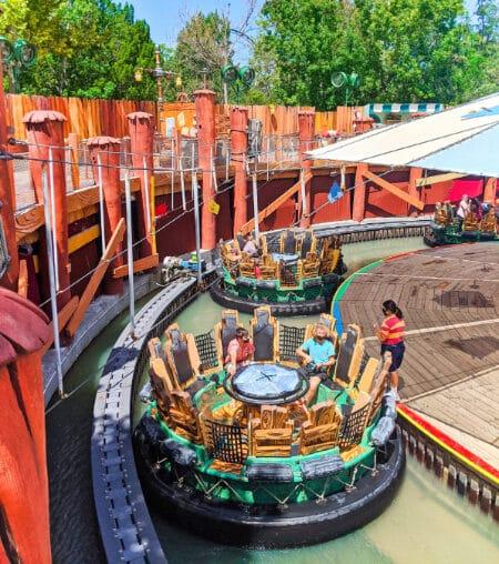 Ride Vehicle social distancing Blutos Bilge Barge Universal Orlando 2020 1