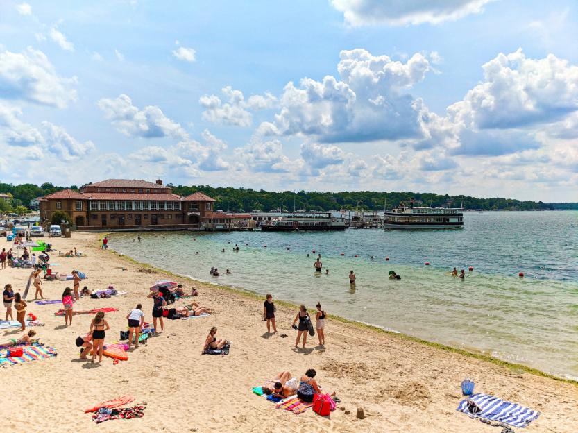 Riviera Beach Park at Lake Geneva Wisconsin 1