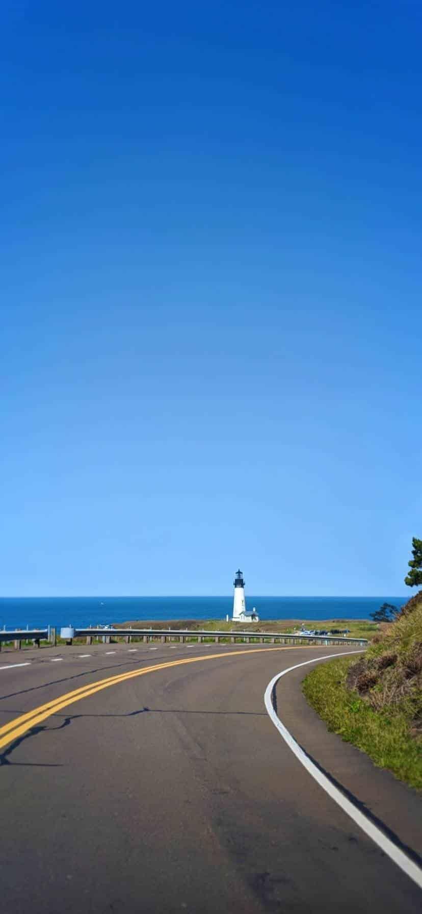 oad To Yaquina Head Lighthouse Oregon Coast Road Trip