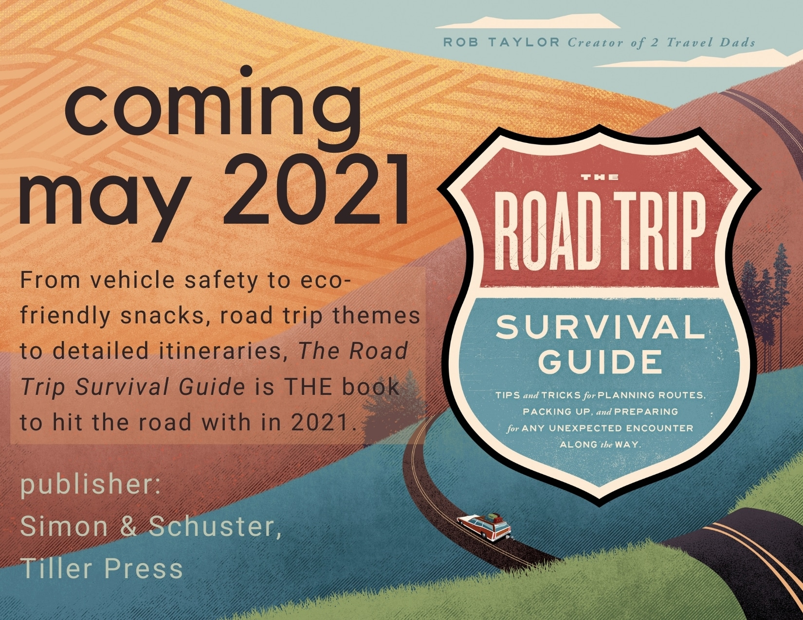 Road Trip Survival Guide Coming May 2021