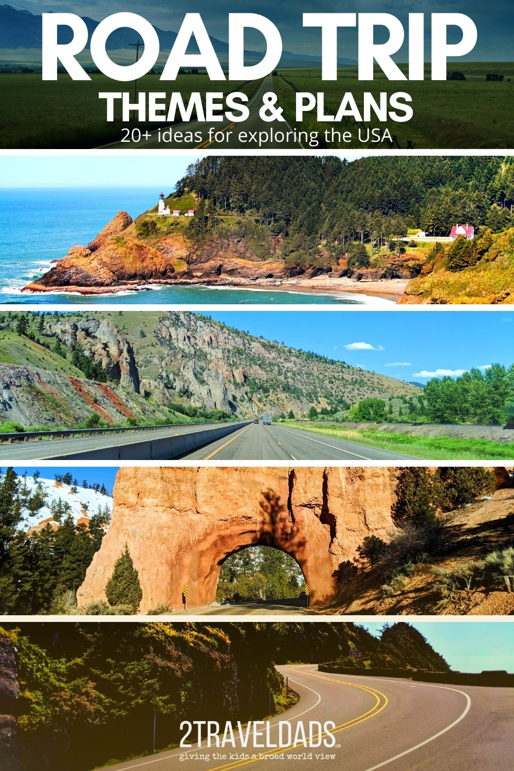 20+ road trip themes that you will never forget. From epic photography journeys to family fun or romantic vacations, these road trip themes and plans are sure to inspire new and amazing adventures.