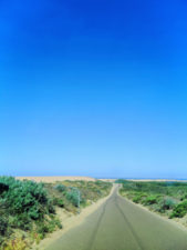 Road into Guadalupe Nipomo Dunes Preserve Santa Maria Valley California 1