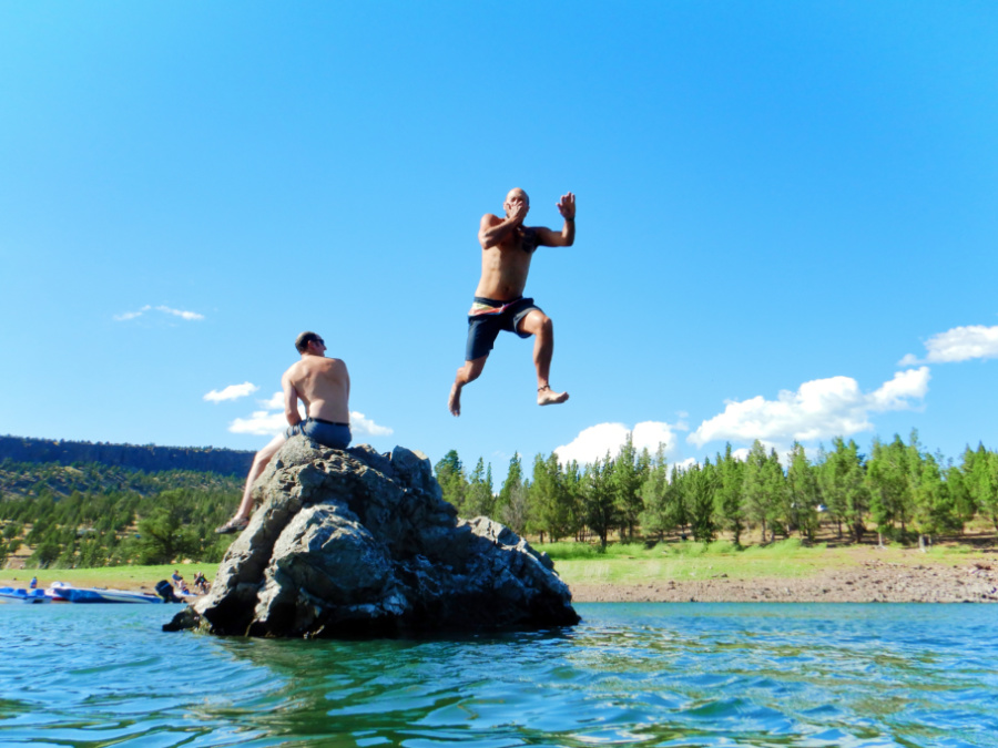 Rob Taylor Swimming area at Ochoco Lake Prineville Oregon 6