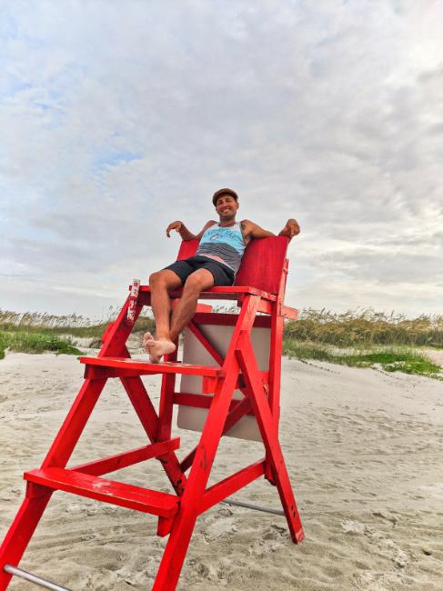 Rob Taylor at Butler Beach 2020 1