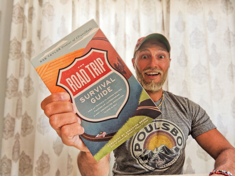 Rob Taylor with Road Trip Survival Guide 2021 4
