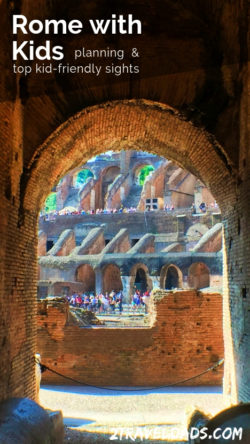 Rome with kids is an unforgettable experience. Planning your visit, including what part of town to stay in, is important to enjoying Rome stress free.