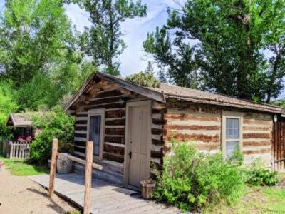 Rustic Cabin at Nevada City Hotel Virginia City Montana 1