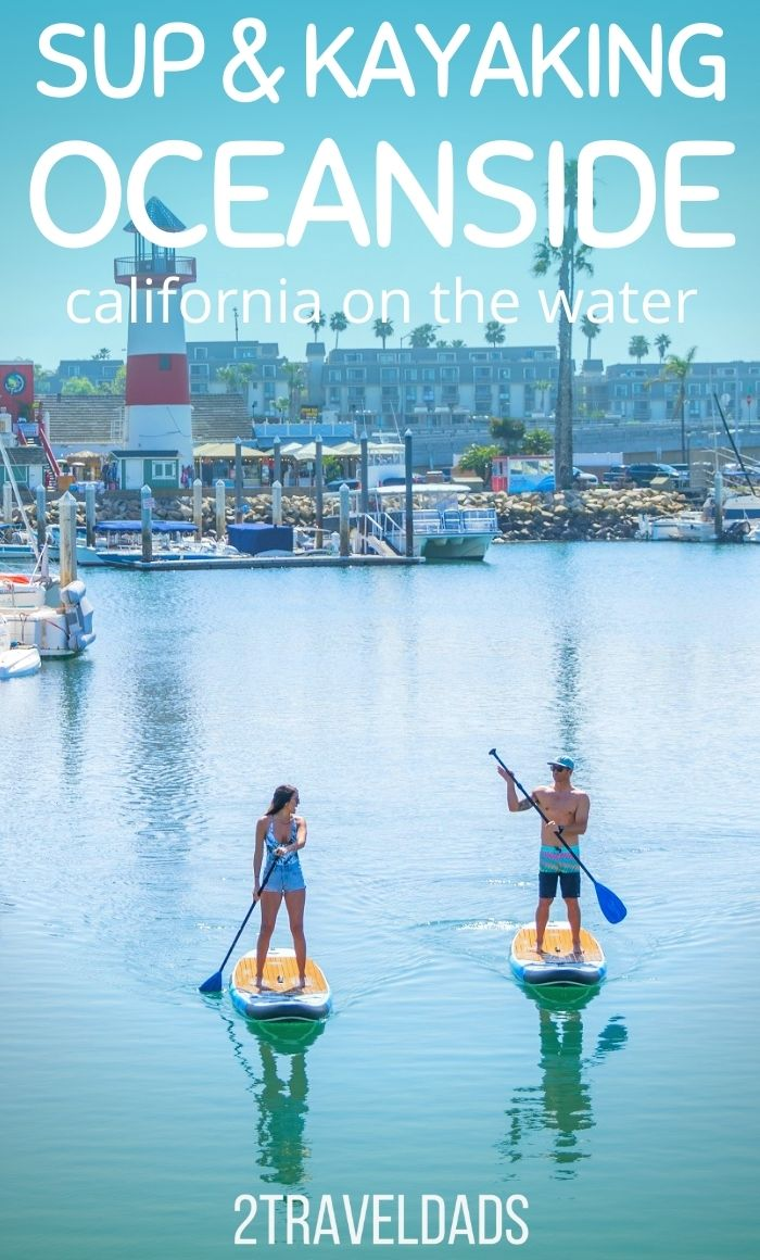 Kayaking in Oceanside, California is a great addition to a coast road trip. See where to kayak, where to rent SUPs and what wildlife to watch for out on the water in Oceanside.