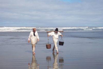 Salt Workers return at Lewis and Clark Nation Park Seaside Oregon NPS