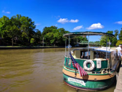 Sam Patch River Cruise boat on Erie Canal Rochester New York 1