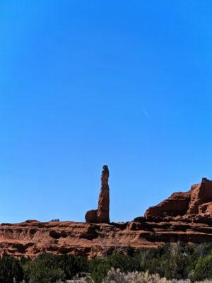 Sandstone chimney rock formations in Kodachrom Basin State Park Utah 3