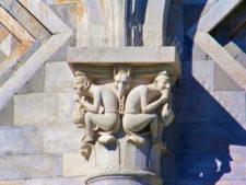 Santa Maria Assunta Sculptures at the Field of Miracles Pisa Italy 1