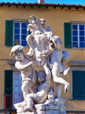 Sculptures at the Field of Miracles Pisa Italy 3