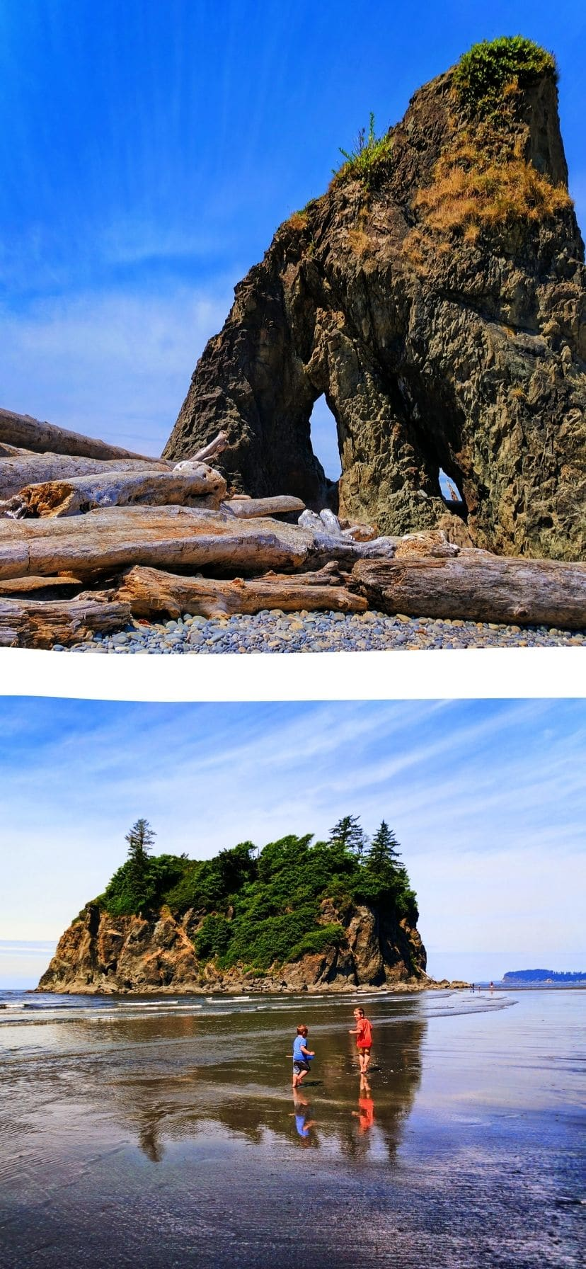 Sea Stacks at Ruby Beach Olympic National Park Web Story