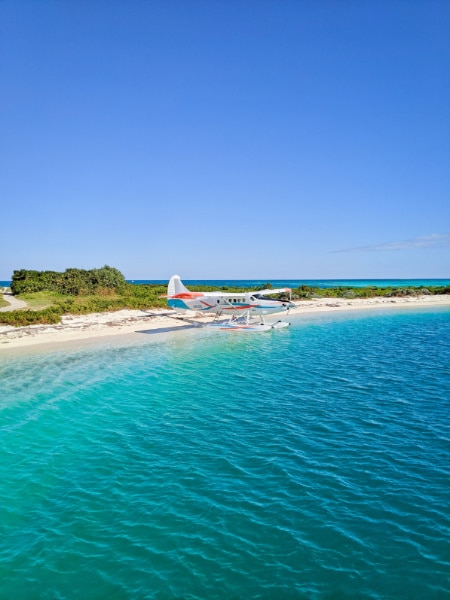 Seaplane at Dry Tortugas National Park Key West Florida Keys 2020 2