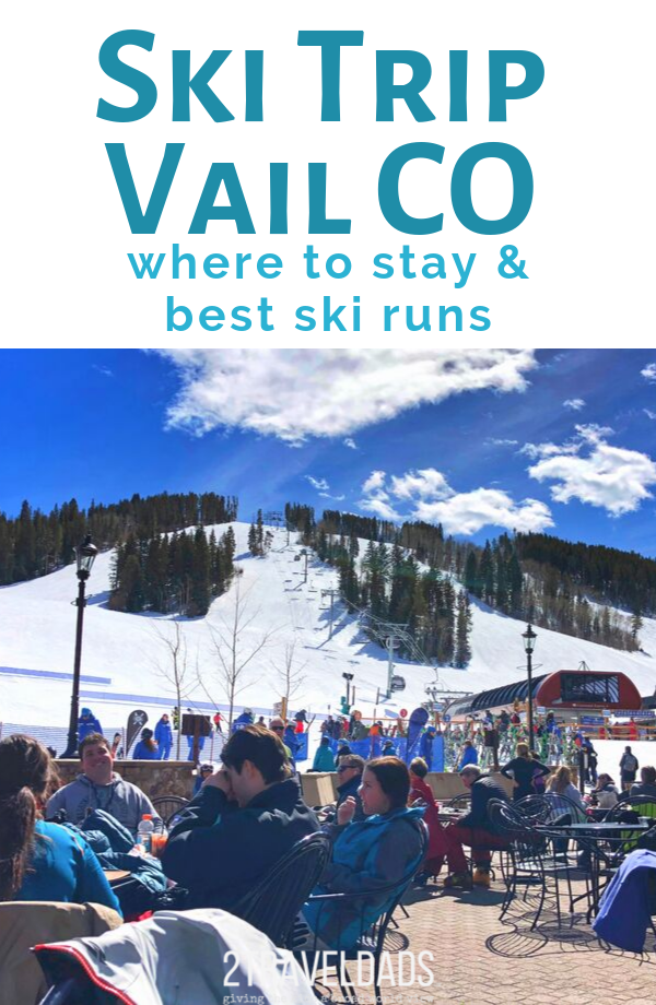 Planning a ski trip to Vail Colorado is easy and even fun with small kids. Best places to stay in Vail, best ski runs, planning tips for skiing in the Colorado Rockies.