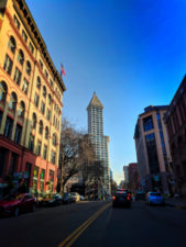 Smith Tower from Pioneer Square Downtown Seattle 1
