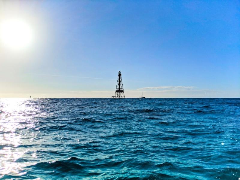 Sombrero Key Lighthouse from Marathon Key Florida Keys 2020 2