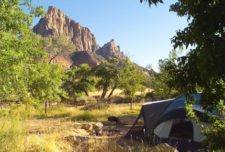 South Campground Zion National Park