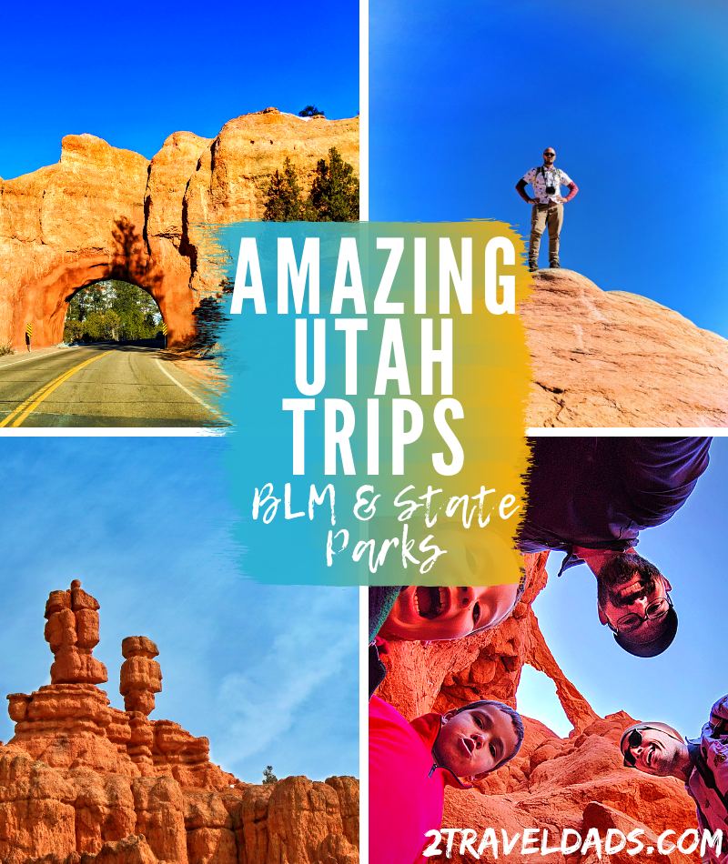Utah State Parks and BLM sites are just as incredible as its National Parks. Great day trips from Zion or Bryce Canyon, outdoor exploring and hiking.
