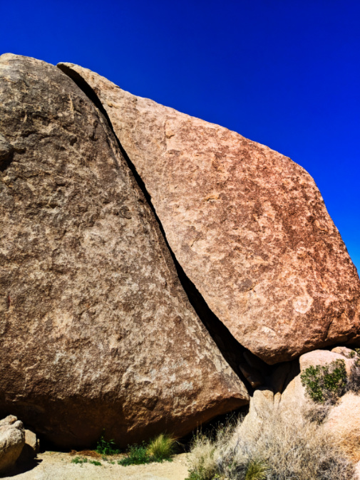 Split Rock in Joshua Tree National Park California 1