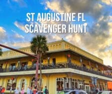 Downtown Saint Augustine Scavenger Hunt - including download!