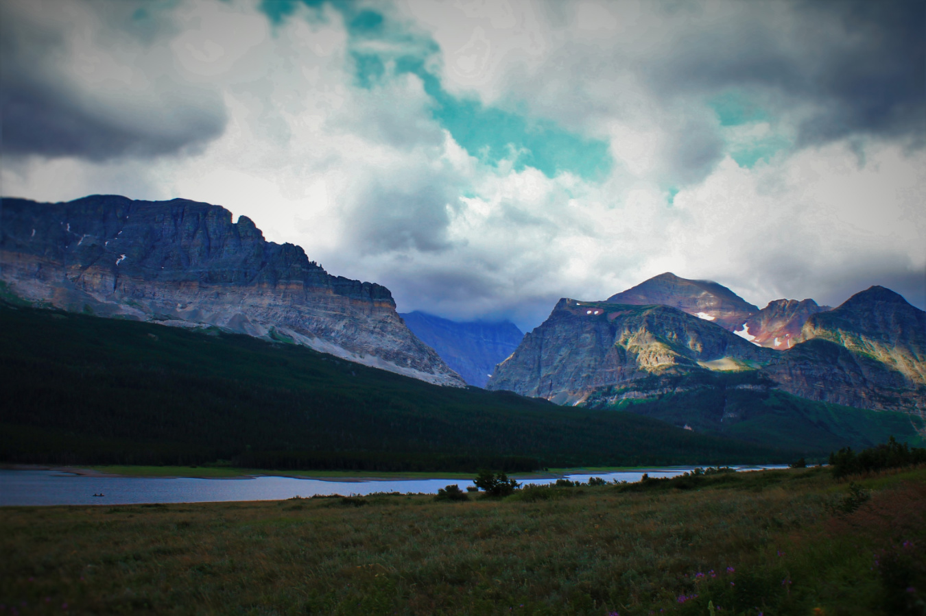St Mary Valley Glacier National Park 1