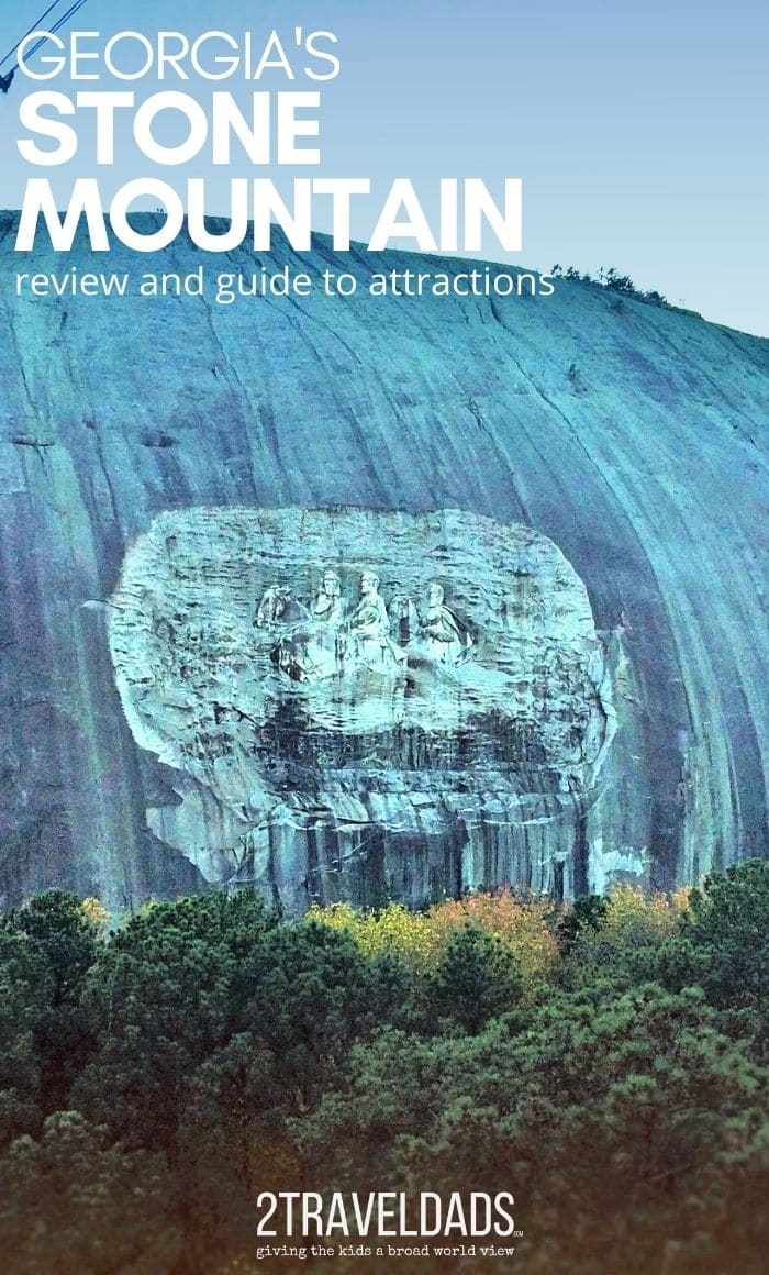 Complete review and guide to Stone Mountain Park, including family friendly attractions and accurate information about its history. MUST READ before visiting.
