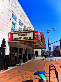 Strand vintage theater in Marietta Square Georgia 1