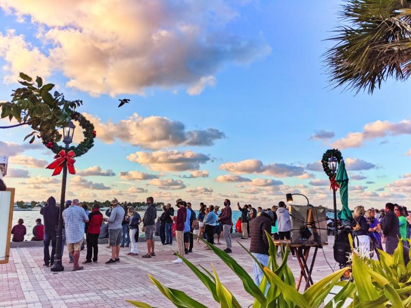 Sunset Celebration at Mallory Square Key West Florida Keys 2020 1