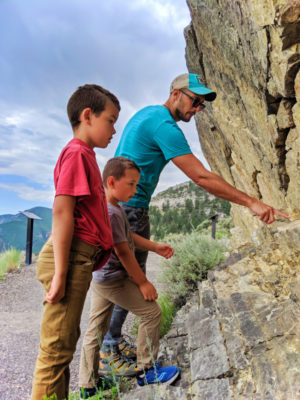 Taylor Family Hiking to Lewis and Clark Caverns State Park Montana 2