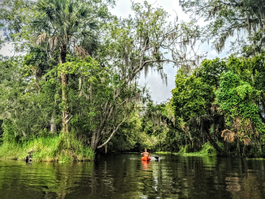 Taylor Family Kayaking at Blue Spring State Park Florida 2020 1