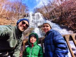 Taylor Family at Amicalola Falls State Park Georgia 5