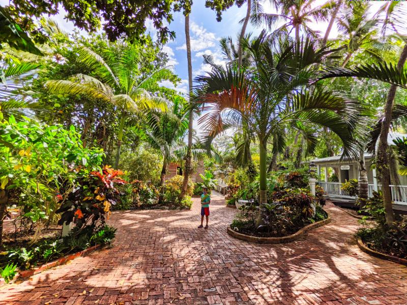 Taylor Family at Audubon House and Gardens Key West Florida Keys 2021 2