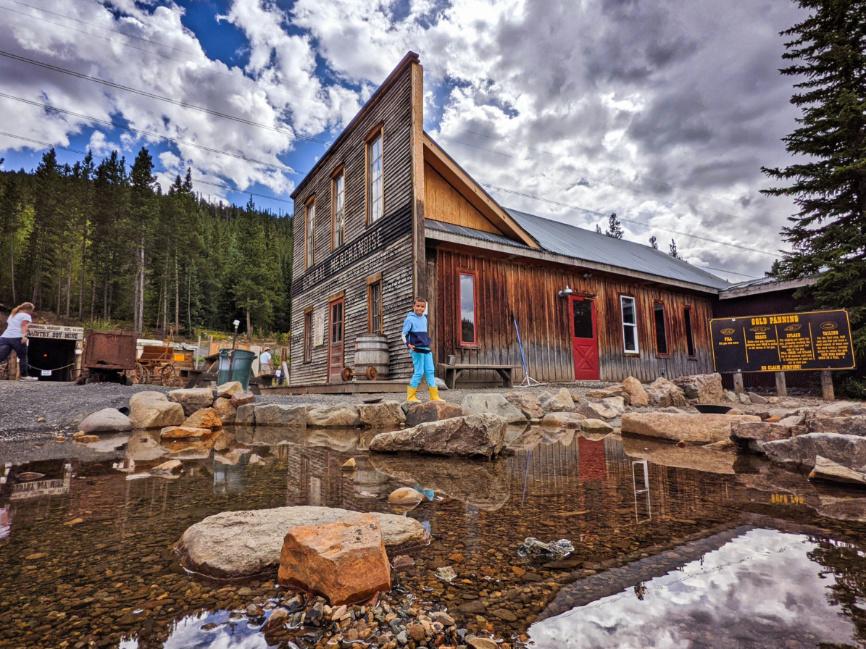 Taylor Family at Country Boy Mine Breckenridge Colorado 8