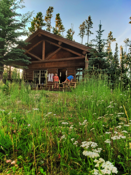 Taylor Family at Cowboy Heaven Family Cabin at Big Sky Resort Big Sky Montana 3
