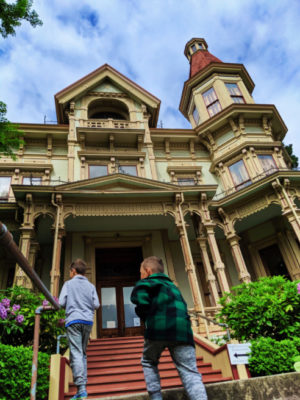 Taylor Family at Flavel House Victorian Mansion Astoria Oregon 2