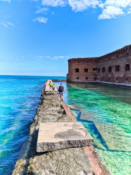 Taylor Family at Fort Jefferson Dry Tortugas National Park Key West Florida Keys 2020 18