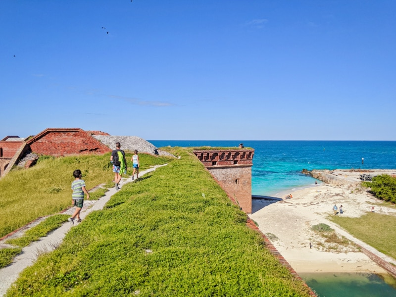 Taylor Family at Fort Jefferson Dry Tortugas National Park Key West Florida Keys 2020 24