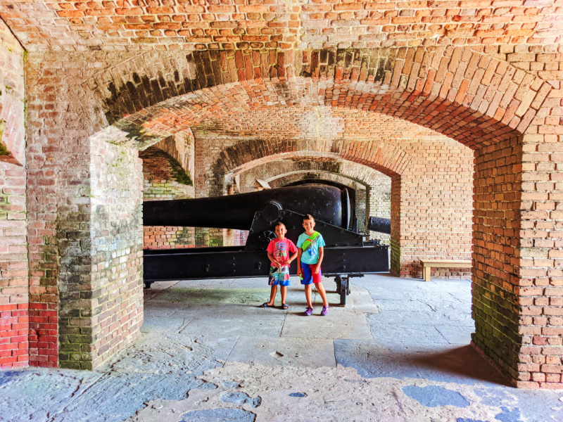 Taylor Family at Fort Zachary Taylor State Park Key West Florida Keys 2021 5